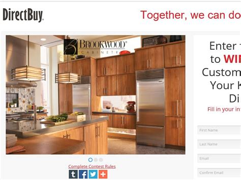 Directbuy Kitchen Cabinets the directbuy kitchen cabinet giveaway sweepstakes