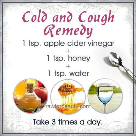 cold and cough remedy words