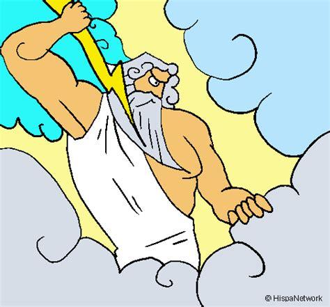 imagenes de el dios zeus para dibujar dibujo de dios zeus pintado por aalfoonsoo en dibujos net