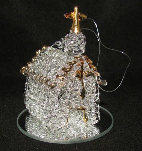 spun glass christmas ornaments princess decor
