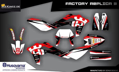 husqvarna 125 dekor husqvarna italy lizenzierte dekore mx kingz motocross shop