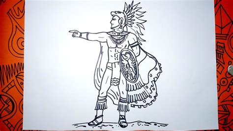 imagenes de los mayas para imprimir c 243 mo dibujar un guerrero maya paso a paso youtube