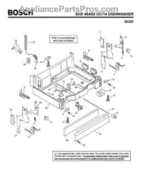 bosch 00088403 drain hose connector appliancepartspros