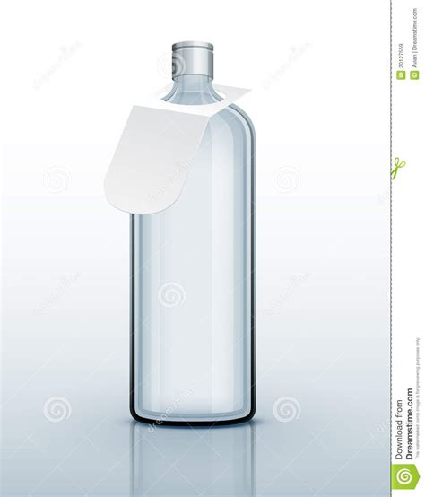 chagne glass card template template of glass bottle for drink royalty free stock