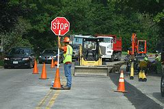 National Work Zone Awareness Week   Don't barrel through