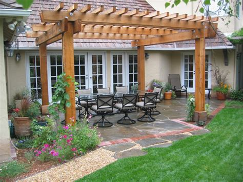 pergola ideas pergola designs attached house furnitureplans