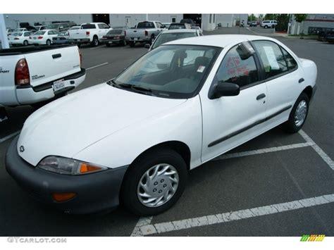 1997 chevrolet cavalier sedan bright white 1997 chevrolet cavalier sedan exterior photo