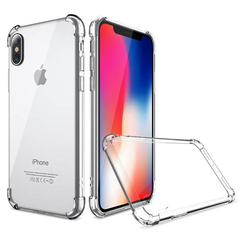 Anticrack Iphone anti tpu silicone softcase for iphone x