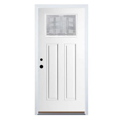 Lite Entry Door by Shop Therma Tru Benchmark Doors Emerson Craftsman