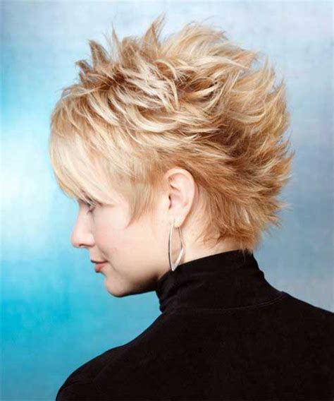 pic of back of spikey hair cuts spiky pixie haircut long hairstyles