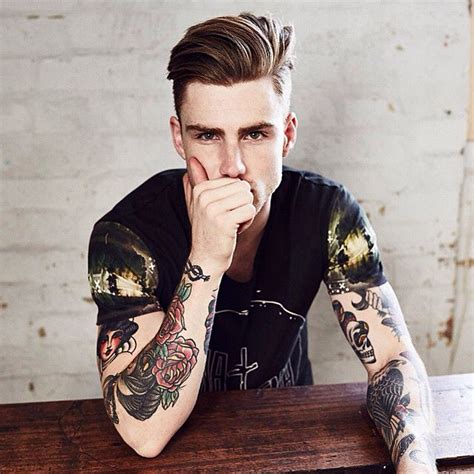 old man with tattoos 20 guys with tattoos that make them hotter than they