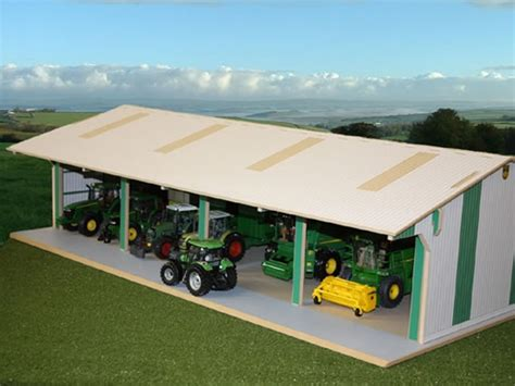 Shed Tractor Supply by Wooden Outbuildings Style Tractor And Machinery