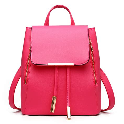 get cheap leather backpack purse aliexpress