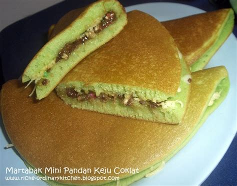 cara membuat martabak mini yg gang just my ordinary kitchen martabak mini pandan keju coklat