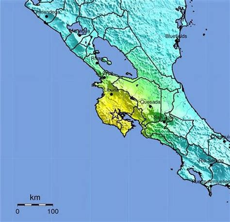earthquake costa rica costa rica earthquake tsunami warning issued earth