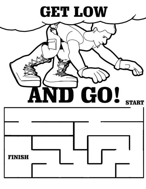 free prevention signs coloring pages