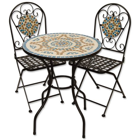 Mosaic Patio Table And Chairs Mosaic Table And Chairs Set Mosaic Outdoor Table And Chairs Images Cable Spool Garden Vidaxl