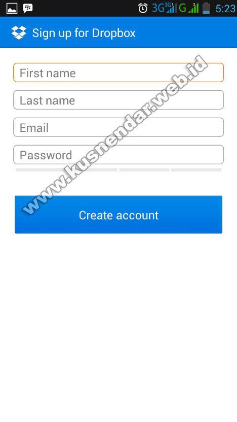 Dropbox Tidak Bisa Di Install | cara menggunakan dropbox di android dilengkapi gambar