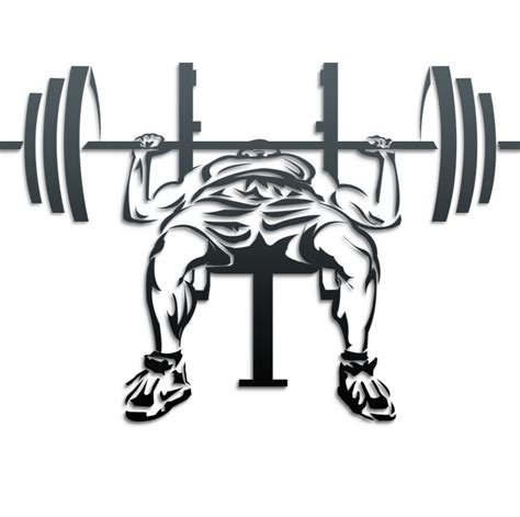 bench press picture bench press clipart clipart suggest