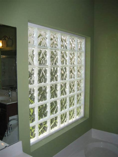 glass block windows for bathrooms glass block bathroom windows houston glass block