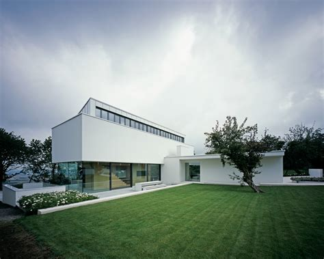 house architectural modern residence opening up to fantastic views in germany