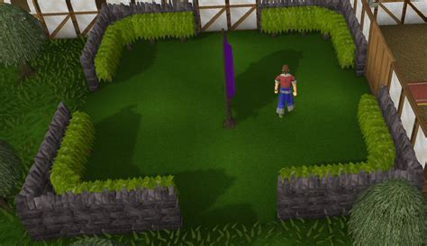 formal garden runescape wall the runescape wiki