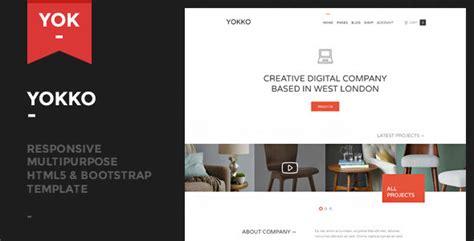 Themeforest Yokko | yokko responsive multipurpose template by aisconverse