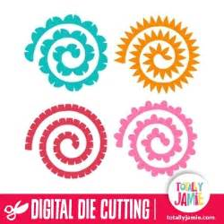 Floral Decoration Supplies Assorted Quilled Flowers 1 Totallyjamie Svg Cut Files