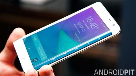 Samsung Galaxy Note 4 And Galaxy Note Edge Unleashed At Ifa 2014 Test Comparatif Samsung Galaxy Note Edge Vs Galaxy Note 4 Androidpit