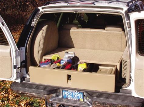 Suv Cargo Drawer by Cargo Caddy For Truck And Suv Suv Organizer