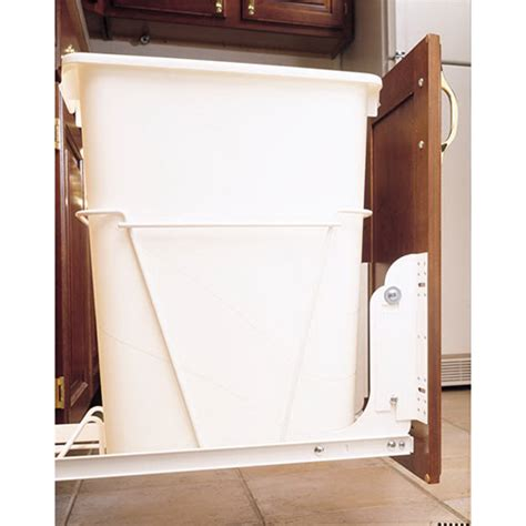 cabinet trash can kit rev a shelf rv dm kit 100