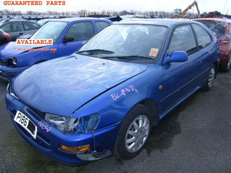Toyota Corolla Sportif Toyota Corolla Breakers Corolla Sportif Dismantlers