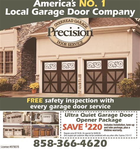 precision garage door repair america s no 1 local garage door company precision garage