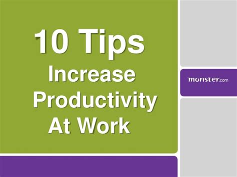 how to improve workflow 10 tips to increase productivity at work
