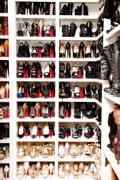 shoe closet 3 stylish ways to store christian louboutin shoes lollipuff