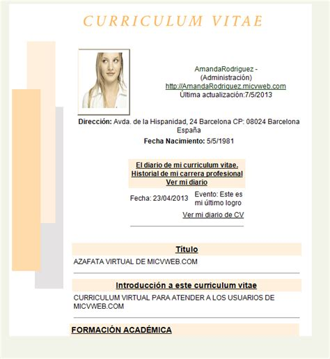 Modelo Curriculum Europeo Descargar Modelos De Curriculum Vitae Para Descargar Gratis En Formato Word Quotes