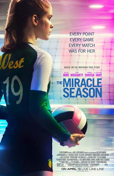 The Miracle Season Wiki Helen Hunt Win Advance Screening Passes To The Miracle Season Backstageol