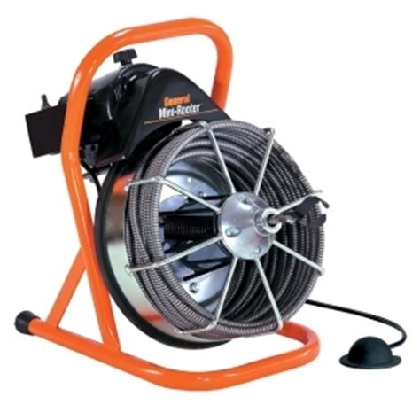 Drain Rooter General Wire Mr C O Mini Rooter 50 Sewer Floor Auger