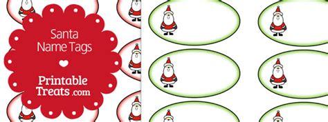 printable name tags from santa free printable santa name tags printable treats com