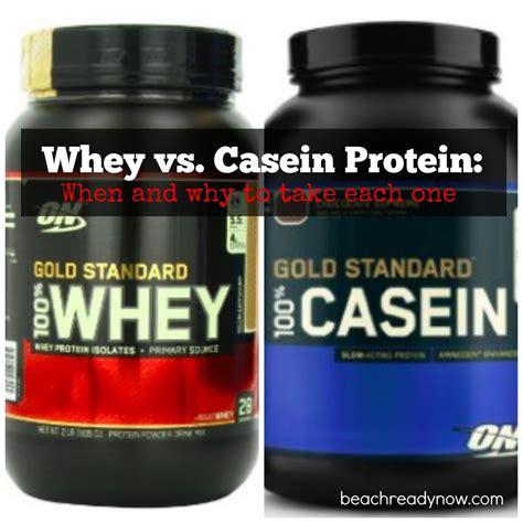 Whey Casein powder protein whey vs casein ready now