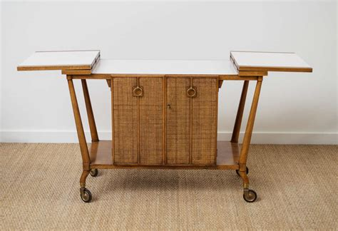 Johnsons Furniture by Bar Cart By Johnson Furniture At 1stdibs