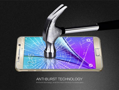 Galaxy Note 5 Nillkin Amazing Hpro Tempered Glass Samsung N920 Clea nillkin amazing pe tempered glass screen protector for