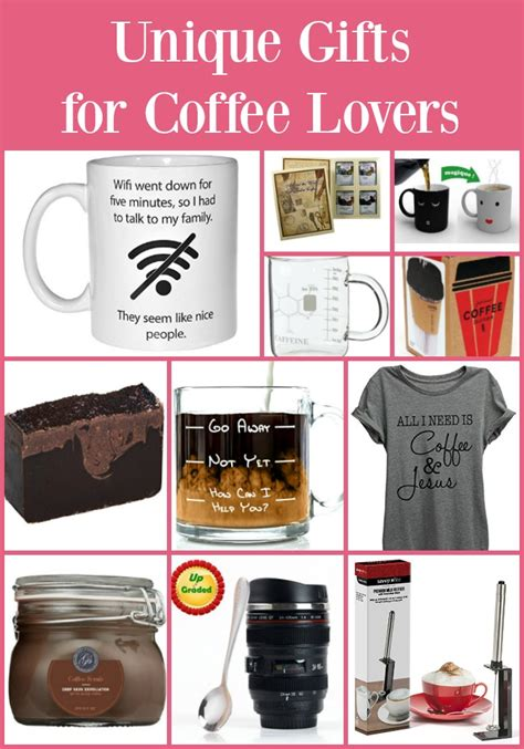 unique coffee gifts 30 gift ideas for coffee lovers simply sherryl