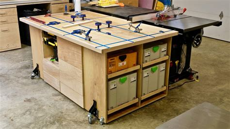 Ultimate T Track Assembly Outfeed Table With Systainer Outfeed Table Plans