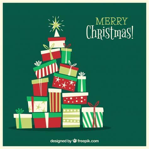193 rbol de navidad de cajas de regalo descargar vectores