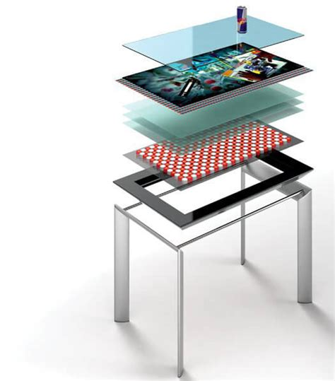 table tactile microsoft surface 40 pouces