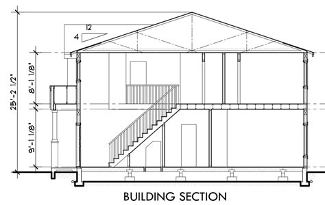 side view house plans duplex house plan d 532 duplex plans with garage