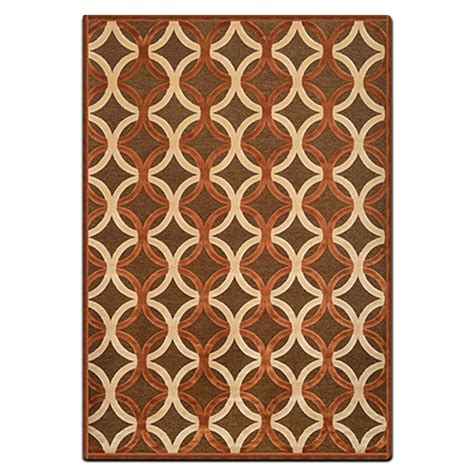 american furniture area rugs napa 5 x 8 area rug rust and ivory american signature furniture