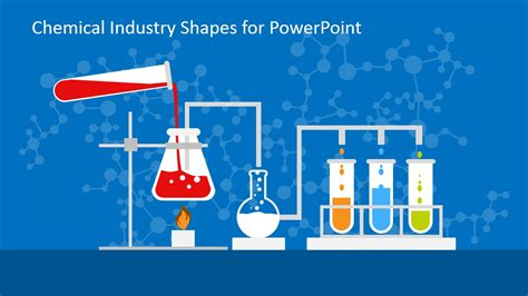 powerpoint templates chemistry free chemical industry shapes for powerpoint slidemodel