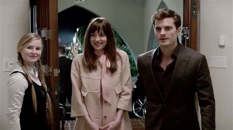 fifty shades of grey movie cast ana fifty shades of grey film review hollywood reporter
